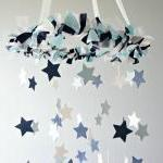 Star Mobile- Blue Nursery ..